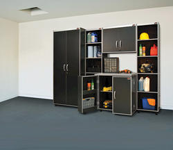 Xtreme Garage™ 5-Piece Open Tower Laminate Storage System