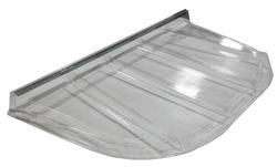 """Wellcraft™ 76"""" x 46"""" Clear Polycarbonate Window Well Cover"""