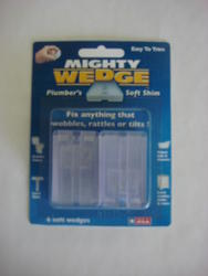 6 Pk Clear Mighty Wedge