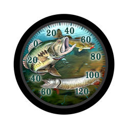 "Springfield® 13-1/4"" Fish Patio Thermometer"