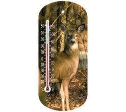 """Springfield® 8"""" Deer Suction Cup Thermometer"""