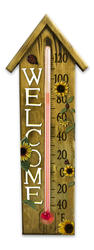"Springfield® 8"" Welcome Birdhouse Thermometer"