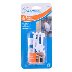 Dreambaby® Safety Catches (6 Pack)