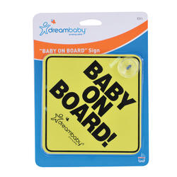 Dreambaby® Baby On Board Sign (1 Pack)