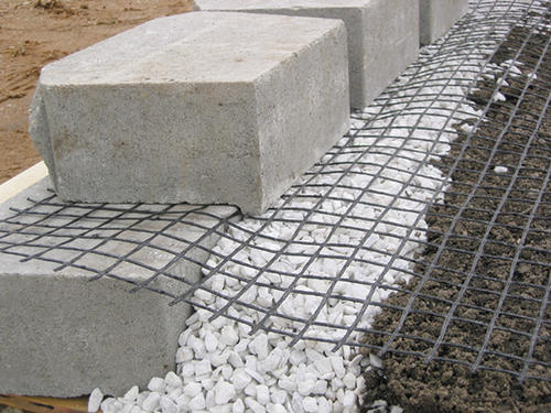 Landscaping Retaining Wall Blocks Menards : Geogrid at menards?