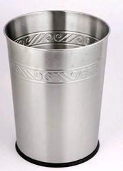 12L Stainless Steel Wastebasket