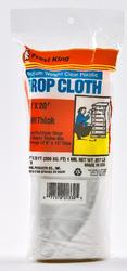 Frost King 10' x 20' x 1 mil Clear Poly Drop Cloth