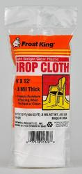 Frost King 9' x 12' x 0.8 mil Clear Poly Drop Cloth
