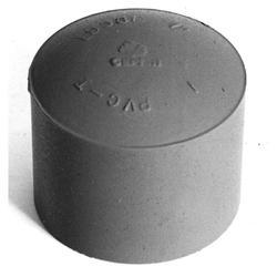 """Carlon 1-1/4"""" PVC Pipe End Cap"""
