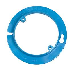 "Carlon 1/2"" Raised Round Plaster Ring"