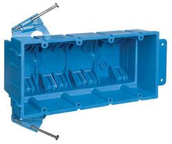 Carlon 4-Gang Non-Metallic Wall Box