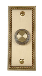 Carlon Brass Finish Roped Wired Brass Push Button