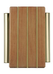 Carlon Wood with Brass Tubes Wired Chime