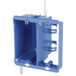 Carlon 2-Gang Dual Voltage Box/Bracket