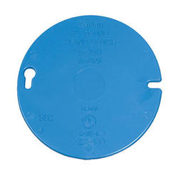 Carlon Round Covers for Octagon Ceiling Boxes