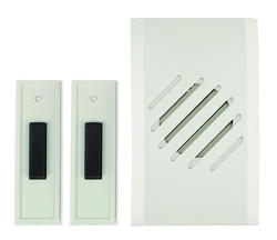 Carlon Wireless Plug-In Doorbell with 2 Buttons