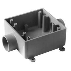 """Carlon 1"""" PVC 2-Gang FSC Box"""