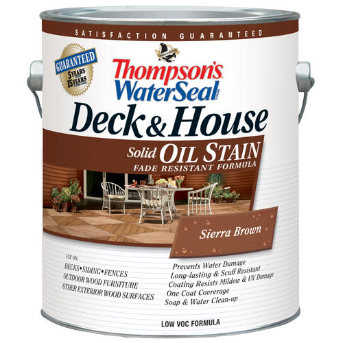 Exterior Oil Stain