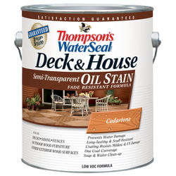 Thompsons Water Seal Deck & House Oil Stain Semi-Transparent