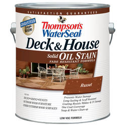 Thompsons Water Seal Deck & House Oil Stain Solid