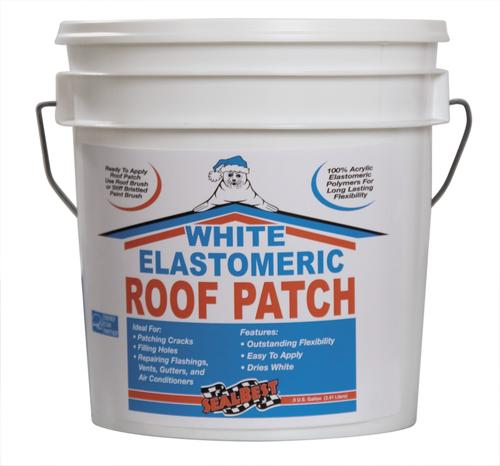 White elastomeric roof patch medford or