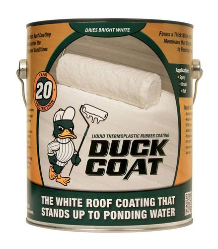 Sealbest Duck Coat White Flexible Roof Coating 9 Gal