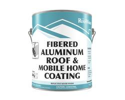 RoofWorks Fibered Aluminum Roof & Mobile Home Coating - .9-gal