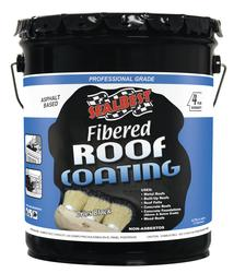 SealBest Professional Grade Fibered Roof Coating - 4.75-gal.