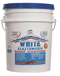 SealBest 10-Year Protection White Elastomeric Roof Coating - 4.75-gal.