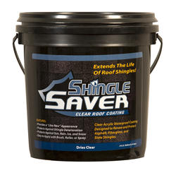 SealBest Shingle Saver Clear Roof Coating - .9-gal.