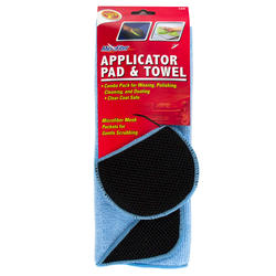 Detailer's Choice® 2-Piece Microfiber Applicator Pad & Towel