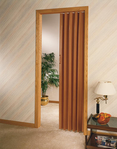 Design house decor 32 x 80 vinyl folding door at menards for Door vinyl design