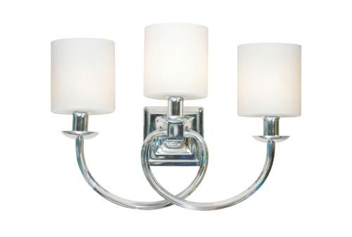 Corinne 3 Light Vanity Light in Chrome at Menards