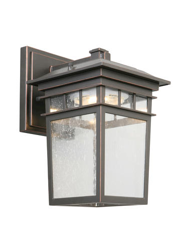 Wall Light Fixtures Menards : Michelle Oil Rubbed Bronze LED Outdoor Wall Light at Menards