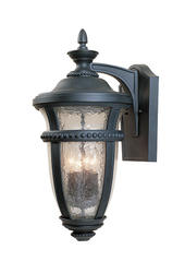 "Patriot Lighting Barrister 19"" Natural Iron 3-Light Outdoor Wall Light"