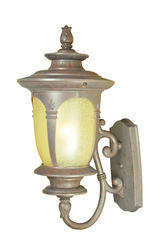 "Patriot Lighting Filmore 30"" Mediterranean Patina 1-Light Outdoor Wall Light"