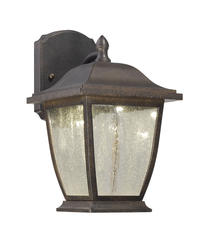 "Patriot Lighting Talbott 11-1/2"" Forged Sienna LED Outdoor Wall Light"