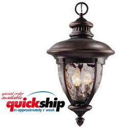 "Tolland 3-Light 19.625"" Patina Bronze Outdoor Pendant"