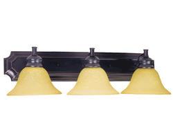 """Bristol 3-Light 24"""" Oil-Rubbed Bronze Indoor Vanity Light"""