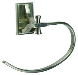 Ironwood Satin Nickel Towel Ring