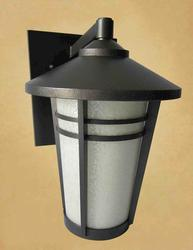 "Patriot Lighting Phoenix 12-3/4"" Charcoal Bronze 1-Light Outdoor Wall Light"