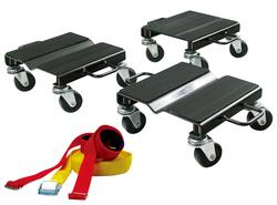 Snowmobile Dolly with Strap (1,500 lb. Capacity)