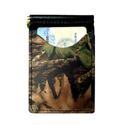 Black Camo Back Saver Wallet