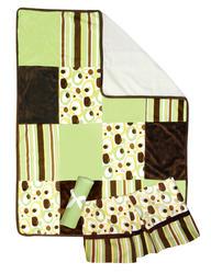 3-Piece Giggles Crib Bedding Set