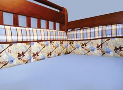 Rockstar Crib Bumpers