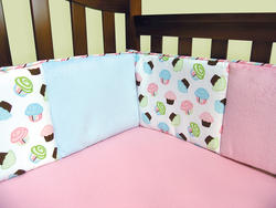 Cupcake Crib Bumpers