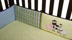 Baby Barnyard Crib Bumpers