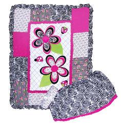 3 Piece Zahara Crib Bedding Set