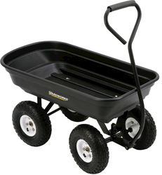 Yardworks® Pull-Behind Poly Garden Cart
