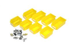 LocBin™ Small/Medium Yellow Bin Kits - 8 ct.